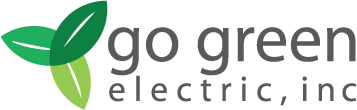 Go Green Electric Logo
