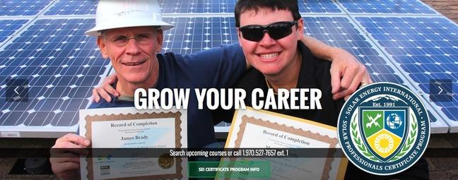 SEI Solar Training - Go Solar Pro!