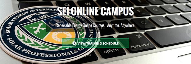 SEI Online Banner