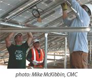 CMC solar array