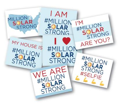 #MillionSolarStrong